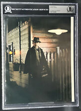 PETER CUSHING DR TERROR'S HOUSE OF HORRORS DUAL SIGNED PHOTO BECKETT BAS WOW!