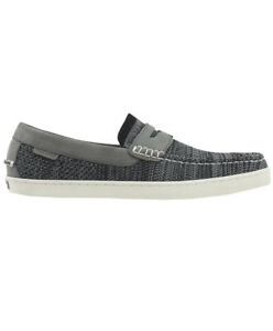 Cole Haan Men Pinch Weekend Stitchlight Loafer Shoes Textile/Suede Gray C32164