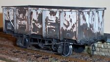 """""""O"""" Gauge Etched Brass 21T Mineral 4 Shoe Wagon Kit"""