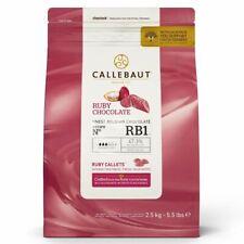 CALLEBAUT SCHOKOLADEN-CALLETS -RUBY- 2,5 KG