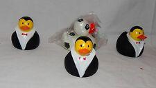 "Rubber Ducks 4 each From Michaels 3"" x 3"" 13A"