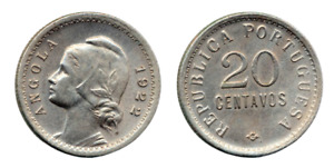 Angola 20 Centavos 1921