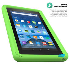 Poetic Turtle Green【Heavy Duty】Silicone Case For Amazon Kindle Fire 7 5th (2015)