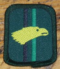 GB scouts – Patrol Badge – Green 1980's – Eagle / eagles