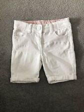 154788f9c Matalan White Denim Girls Shorts - Age 3 Years - New Without Tags