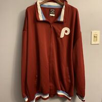 phillies Philadelphia  Jacket 4XL Cooperstown Collection retro vintage red blue