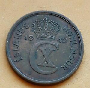 ICELAND 5 AURAR 1942