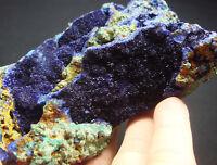 342g Wonderful Bright Gem Blue AZURITE Crystal Mineral Specimen