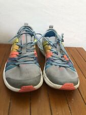 Under Armour Kids Rainbow Shoes Size 3Y Sneakers Youth Colorful Used