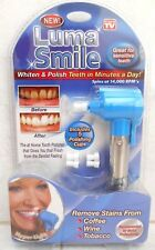 LUMA SMILE WHITEN & POLISH TEETH IN MINUTES A DAY *AS SEEN ON TV*