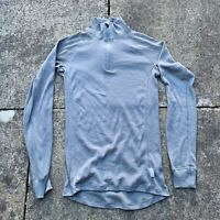 DUTCH ARMY ECW GREY THERMAL THERMOWAVE LONG SLEEVE TOP COLD WEATHER BASE LAYER