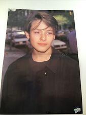 Vintage 90s' Poster Edward Furlong Boyz II Men Janet Jackson Teen 16X11 Eddie