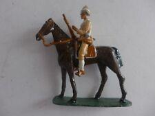 soldat de plomb  cavalier cheval