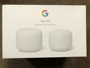 GOOGLE NEST WIFI ROUTER AND POINT AC2200 BRAND NEW