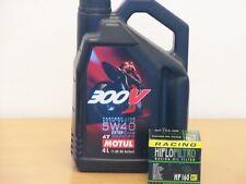 Motul Öl 300V 5W-40 / Racing - Ölfilter BMW S1000 RR Bj 10 - 15