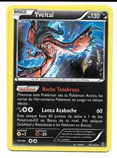 Pokemon YVELTAL 94/162 ! BREAKthrough Rara Holo Foil ESPAÑOL