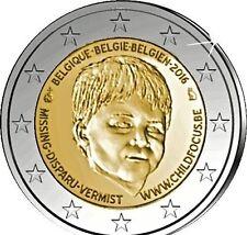 2 euro commemorativa Belgio 2016 20 ANNI FONDAZIONE CHILD FOCUS