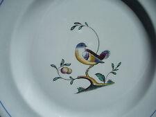 Plate Spode Bread Dessert Queen's Bird White Bird in Tree Porcelain England