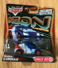 Disney Pixar Cars Neon Raoul CaRoule - New In Box