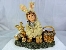Boyds Bears Yesterday's Child - Heather W/ Lauren Bunny Helper - Figurine In Box