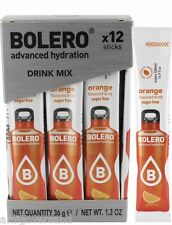 Bolero Sticks - Orange  - 12 Sticks für 12 x 500 mL Getränk