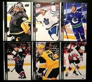 2020-21 20/21 Upper Deck Series 2 Base Cards #251 - #450 Finish Your Set U Pick!