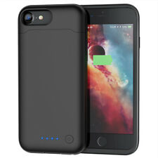 6000mAh For Apple iPhone 8, 7, 6, 6s Power Bank Charging Battery Pack Case Cover