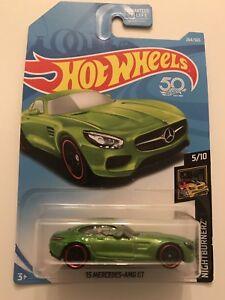 2018 Hot Wheels Green 15 Mercedes AMG GT ERROR Side Mirror Is Deformed 1/1?