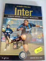 DVD LA GRANDE STORIA DELL'INTER RONALDO - ADRIANO . IL BRASILE E NERAZZURRO