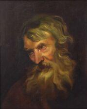 Oil Painting Head Study Tronie after Van Dyck or Rubens