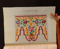 1847-49 2vol Le Conseiller des Dames Journal D'Economie Domestique Illus Sewing