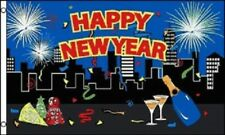 3x5 Happy New Years Eve Flag 3'x5' Happy New Years Party Ball Drop House Banner