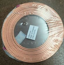 "copper pancake coil 1/4"" x 2M roll,air conditioning pipe tube"