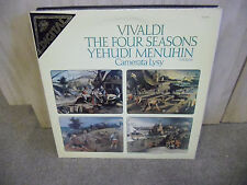 VIVALDI The Four Seasons vinyl LP NM Yehudi Menuhin Camerata Lysy ANGEL