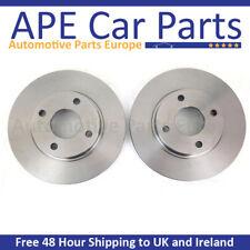 SEAT Cordoba 1.4 01 95-12 98 Plain Front Brake Discs