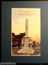 FIRST MONUMENT WOMAN OF THE CONFEDERACY, ROME, GA., Print