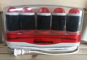 Vintage Revlon Radiance 5 Jumbo Travel Hot Rollers Hair Curlers Tested