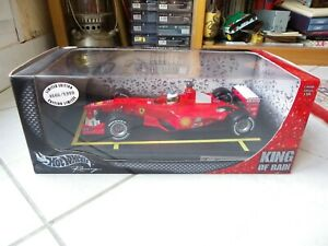Ferrari F1-2000 Michael Schumacher King Of Rain #3 2000 1/18 Hotwheels F1 Rare