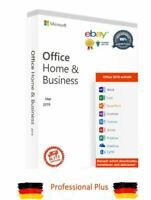 Microsoft Office Home and Business 2019 - MAC -Email- Lifetime SofortAktivierung