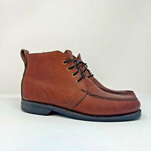 Gokey/Orvis Men's Sz 9 D Sauvage Hikers Chukka Boots Shoes Gro-Cord Soles