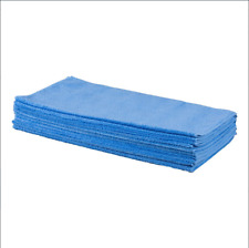 """Microfiber Shopcloths 16""""x16"""" Blue Pack of 10 Warehouse Auto Cleaning Cloths"""