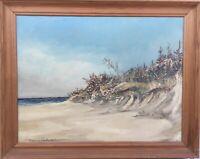 Hermann Feltendal - Denmark - Baltic Sea Beach with Naturufer - Bluffs 59 x 75