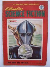 UK Pulp Mag – ASTOUNDING SCIENCE FICTION Aug, 1953