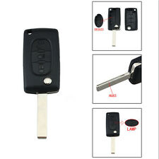 Folding Flip Remote Key Shell Case For CITROEN C4 C5 C6 C8 XSARA PICASS0+Logo LG