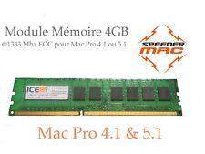  Mémoire 4 GB (1x 4GB) DDR3 1333MHz ECC / Mac Pro 2009 2010 2012,  4.1 ou 5.1