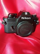 Nikon EM Blue Button 35mm Film Camera Body