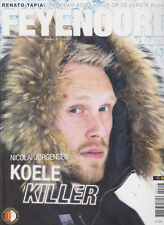 Programme / Magazine Feyenoord Rotterdam 10e jaargang no.7 Februari 2017
