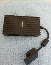 Sony Playstation 2 PS2 Multitap Multi Tap Controller Adaptor Black Play on USED