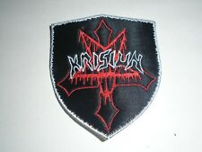 KRISIUN DEATH METAL EMBROIDERED PATCH