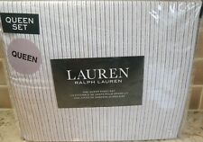 Polo Ralph Lauren Queen Sheet Set YELLOW BLUE WHTE BLACK STRIPES FREE GIFT